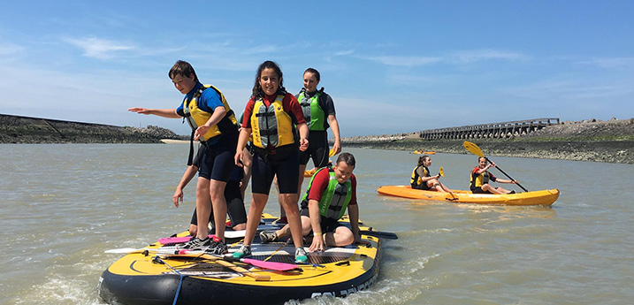 canoe kayak Gravelines